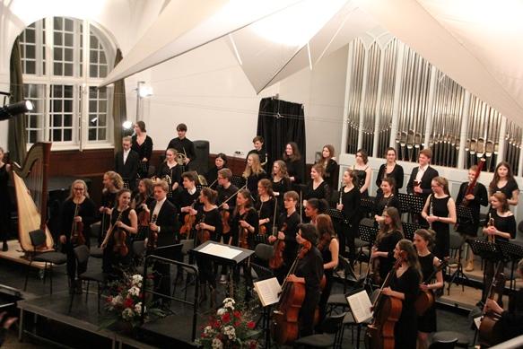 Das Sinfonieorchester des Johanneums zu Lübeck
